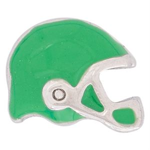 Picture of Green Football Helmet Charm
